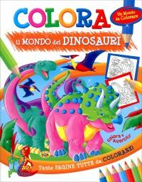 Colora il Mondo dei Dinosauri