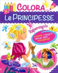 Colora le Principesse - Raperonzolo