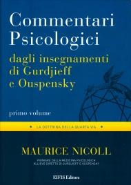 Commentari Psicologici - Dagli Insegnamenti di Gurdjieff e Ouspensky