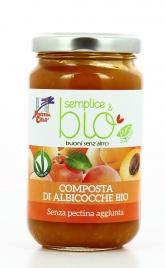 Composta di Albicocche Bio Senza Pectina - Semplice&Bio