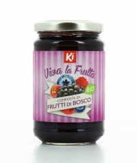 Composta di Frutti di Bosco Bio - Viva la Frutta