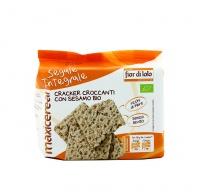 Cracker Croccanti con Sesamo Bio