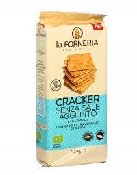 Cracker Senza Sale Aggiunto Bio - La Forneria