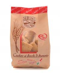 Crackers ai Fiocchi di Frumento Bio