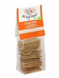 Crackers di Quinoa e Amaranto Bio