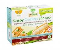 Crispy Crackers con Ceci - Senza Glutine