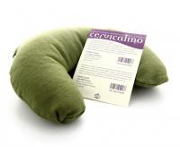 Cervicalino con Foglie di Menta - Color Verde