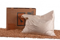Cuscino Grande Atlas con Farro 50x60 cm