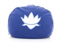 Cuscino Ovale in Pula Blu