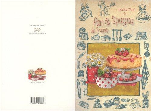 Cakecard - Pan di Spagna alle Fragole