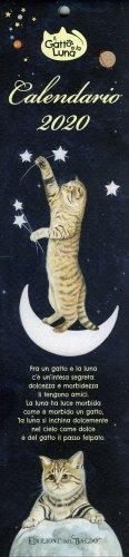 Calendario 2020 - Il Gatto e la Luna - Formato Piccolo