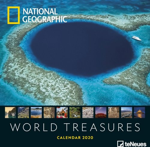 Calendario World Treasures - National Geographic 2020
