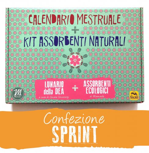 Calendario Mestruale + Kit Assorbenti Naturali - Sprint