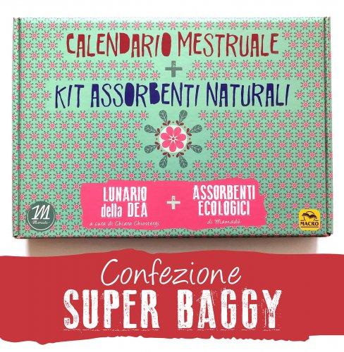 Calendario Mestruale + Kit Assorbenti Naturali - Super Baggy