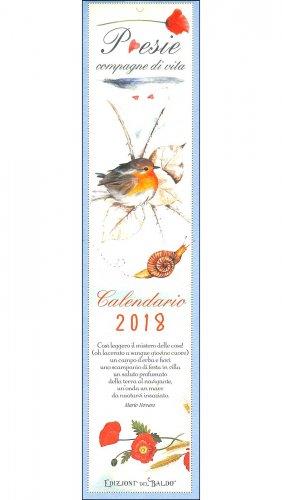 Poesie Compagne di Vita - Calendario 2018 Piccolo