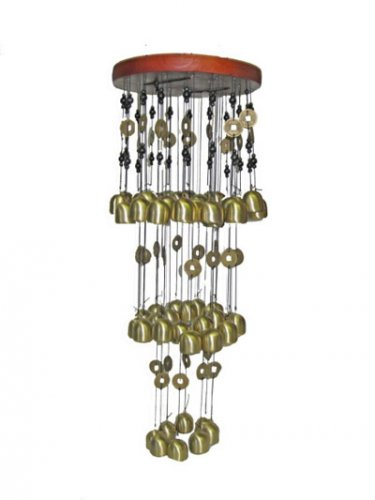 Campana Tubolare - Gioco di Vento con 50 Campanelle