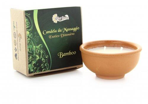 Candela da Massaggio al Bambù