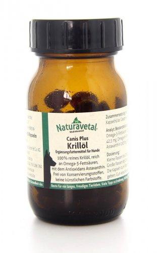 Olio di Krill in Capsule Canis Plus Krillol