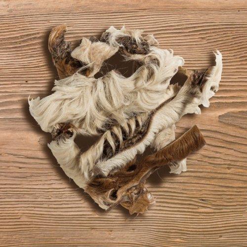 Canis Plus Strisce di Pelo e Pelle di Manzo Essicato