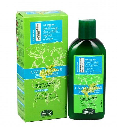 Shampoo Crema Modellante per Capelli - Capelvenere
