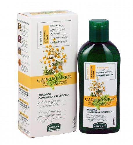 Shampoo Capelli Chiari/Biondi con Camomilla e Biondella - Capelvenere