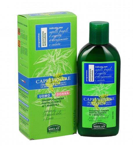 Shampoo Crema Capelli per Uomo Donna - Capelvenere