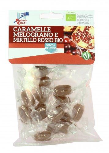 Caramelle Bio Melograno e Mirtillo Rosso - Senza Glutine