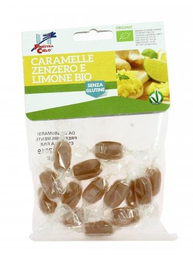 Caramelle Bio Zenzero e Limone - Senza Glutine