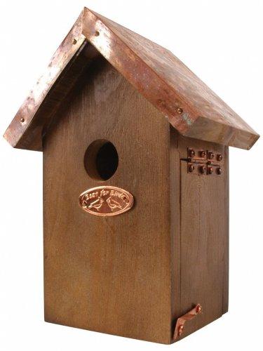Casetta Uccelli con Tetto in Rame