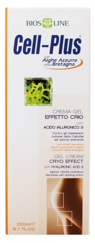 Cell-Plus Crema Gel Effetto Cryo + Acido Ialuronico 3