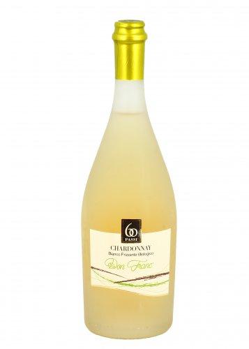 Vino Bianco Bio Frizzante Chardonnay - Don Franc'
