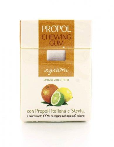 Chewing Gum con Propoli e Stevia - Agrumi