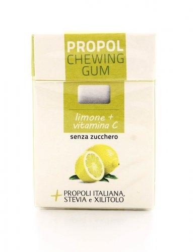 Chewing Gum con Propoli e Stevia - Limone e Vitamina C