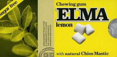 Chewing Gum Elma - Lemon