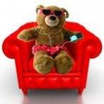 Chillin' Bear Card 1