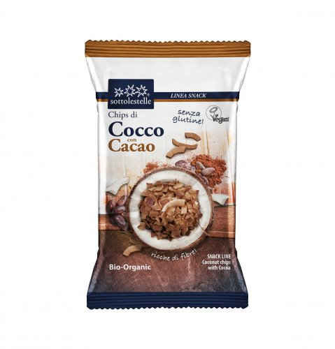 Chips di Cocco con Cacao