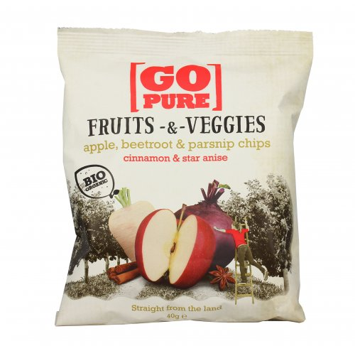 Chips Fruits & Veggies - Mela, Barbabietola e Pastinaca