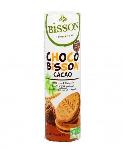 Biscotti al Farro con Crema al Cacao Bio - Choco Bisson Cacao