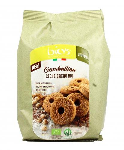 Ciambelline Ceci e Cacao Bio
