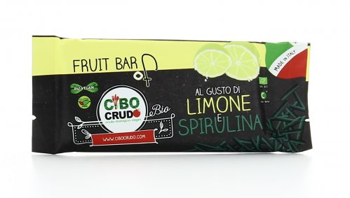 Fruit Bar - Barretta Limone e Spirulina