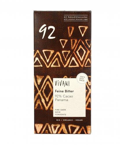 Cioccolato Fondente con 92% di Cacao