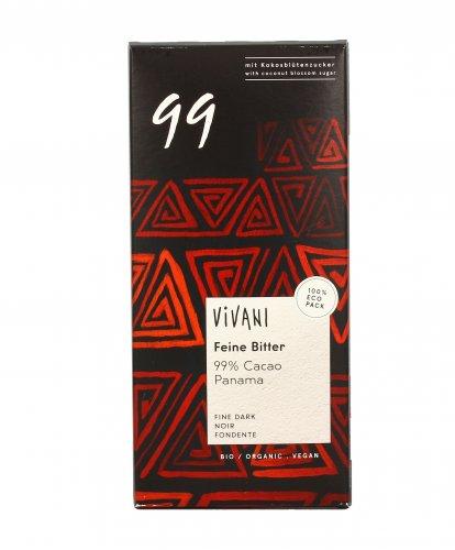 Cioccolato Fondente con 99% di Cacao