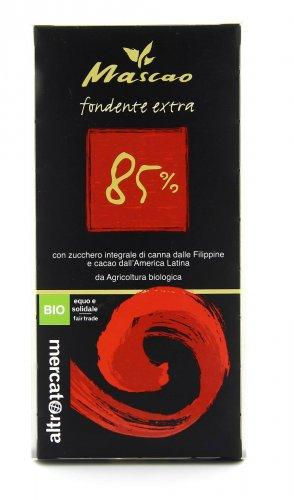 Cioccolato Fondente Extra 85%