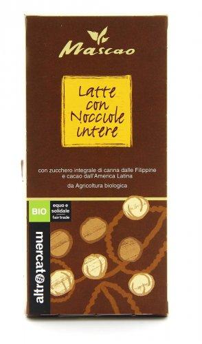 Cioccolato al Latte con Nocciole Intere