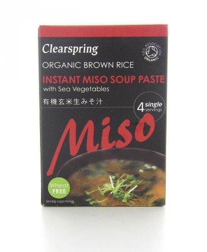 Zuppa di Miso Instantaneo di Riso con Alghe Bio