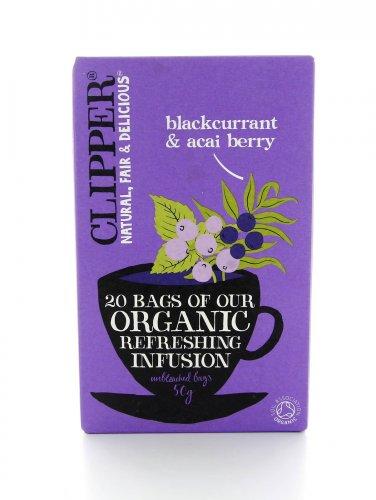 Clipper - Blackcurrant & Acai Berry - Ribes Nero e Acai