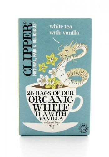 Clipper - Tè Bianco alla Vaniglia Bio
