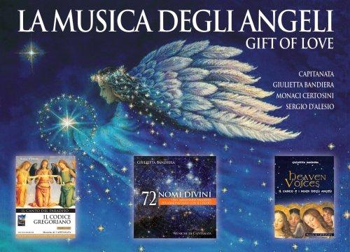 La Musica degli Angeli. Gift of Love - Cofanetto 3 CD con 2 Libri