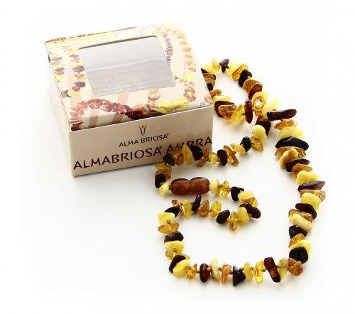 Collana Ambra - Mamma Multicolor
