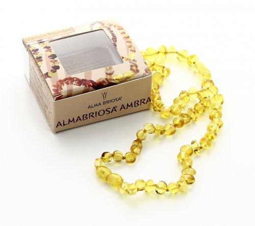 Collana Ambra - Mamma - Rounded Honey